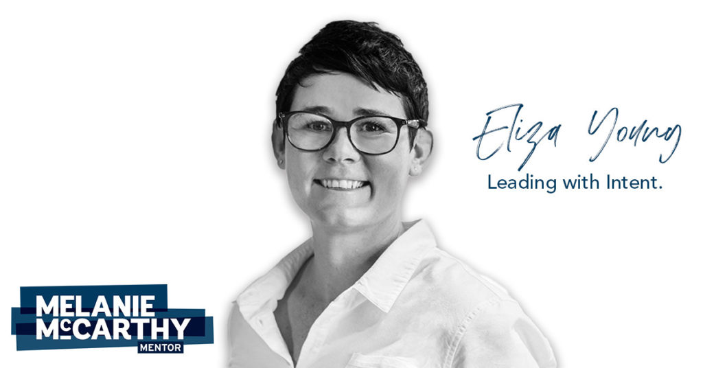 Eliza Young – leading with intent.